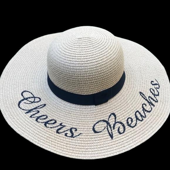 6a29071b Cheers Beaches Accessories | Floppy Beach Hat In Tan | Poshmark